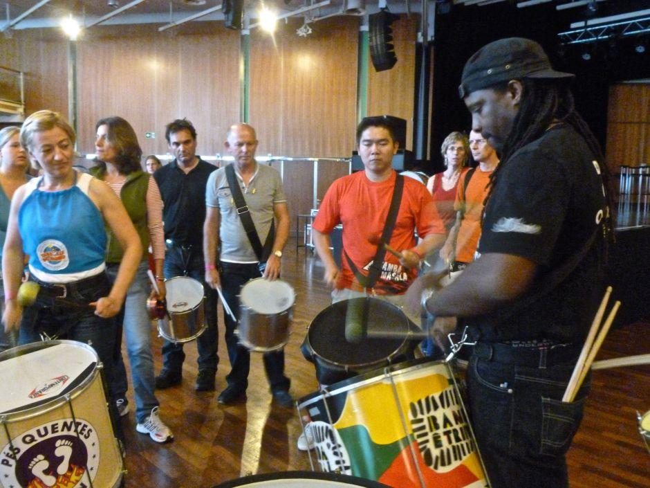 drumming workshop